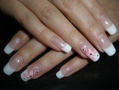 Летний дизайн нарощенных ногтей своими руками