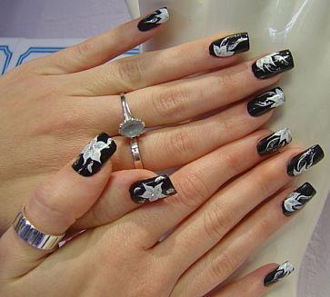 Нейл-Арт дизайн ногтей