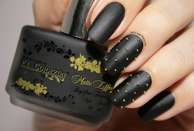 Матовые ногти: третий способ